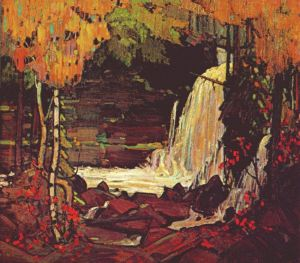 TomThomson-Woodland-Waterfall-1916