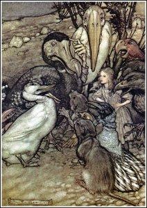 Alice_in_Wonderland_by_Arthur_Rackham_-_03_-_But_who_has_won-
