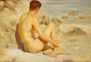 boy-on-a-beach-henry-scott-tuke