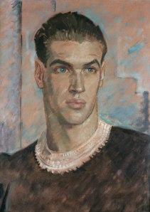 Glyn Warren Philpot--portrait