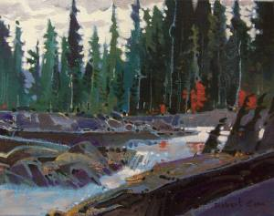 Robert_Genn_The_Campbell_River_Above_Elk_Falls_4513_355